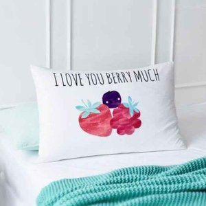 ADAIRS I Love You Pillowcase BNWT